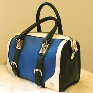 Melie Bianco Color Block Satchel